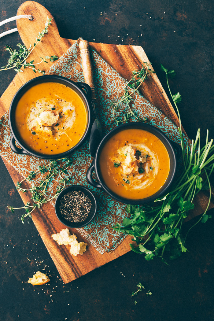 carrot ginger soup_gastrostoria