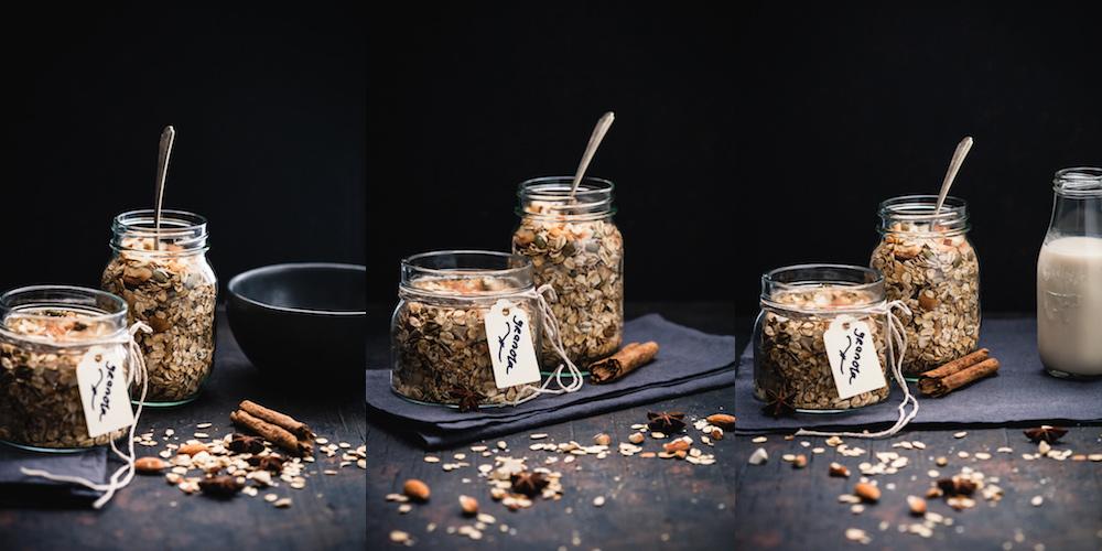 Chai Spiced Coconut Granola