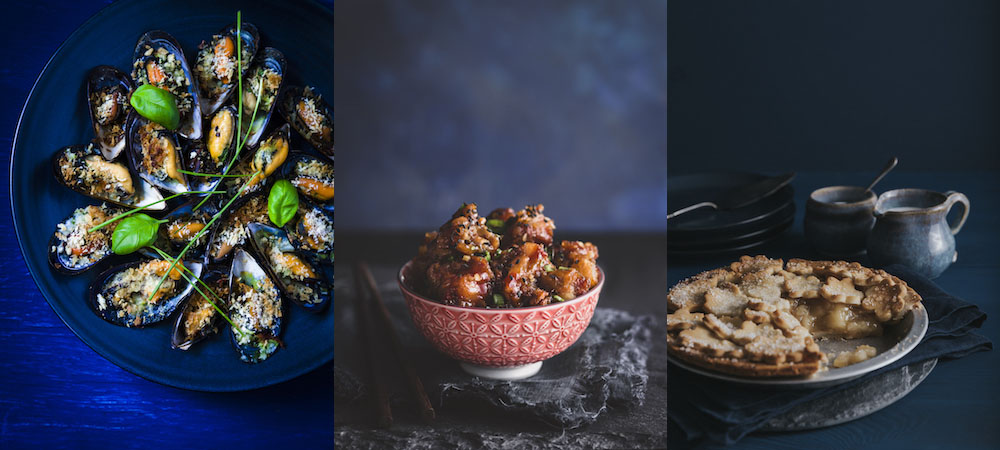 All About Food Stock Photography